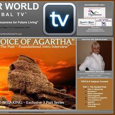 "TAMARINDA MAASSEN PART 1 [English] - AGARTHA DISCLOSURE - The Ancient Past | ""Foundational Intro"""