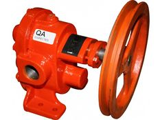 """1"""" Gear Pump with Pulley"""