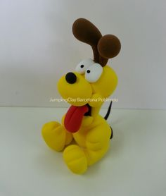 Odi (Garfield) - JumpingClay Barcelona Poblenou