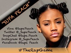 Beautiful Internet star Supa Peach (240,000 subscribers on self-titled YouTube Channel)
