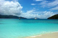 White Bay, Jost Van Dyke, British Virgin Islands-BVI. No.1 in Maxim's list of The 7 Best Beaches in the World.
