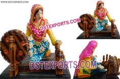 #Punjabi #Culture #Charkha #Katdi #Hoi #Kudi #Dstexports