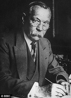 Literary legend: Sir Arthur Conan Doyle's old home...