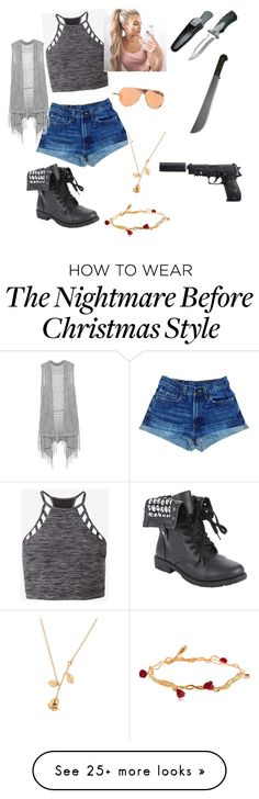"""""""Untitled #118"""" by kaykaythebabygirl on Polyvore featuring Express, Quay, Futuro Remoto and Hot Topic"""