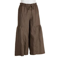 Talula Linen Tiered Pants By CP Shades