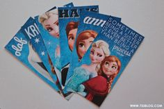 Disney Frozen Free Printable Bookmarks - love the saying: being a sister is even better than being a princess