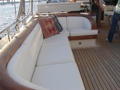 Manufacture and repair of boat canvas and upholstery in pompano beach