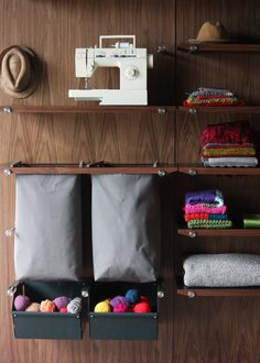 Opencase Wall Storage Solution by Henrybuilt