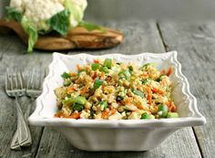 "Hungry Couple: Cauliflower ""Fried Rice"""