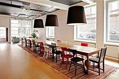 Tässä ideassa on kodikkuutta kerrakseen! #toimisto #design