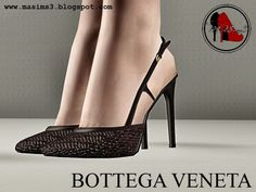 Bottega Veneta 2014 Spring-Summer 3D Shoes by MrAntonieddu - Sims 3 Downloads CC Caboodle