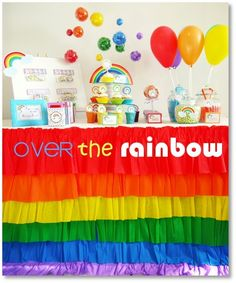 over the rainbow party? yup, has to happen.