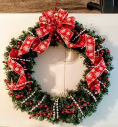 Christmas wreath created for a gift 2016