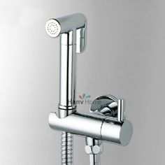 Metal Trigger Spray for Douche Bidet Shower Chrome Plated Brass Heavy Duty