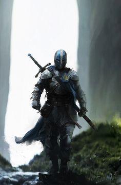 Dark Fantasy Art, Fantasy Kunst, Fantasy Artwork, Fantasy Rpg, Fantasy Character Design, Character Concept, Character Art, Fantasy Warrior, Warrior Concept Art