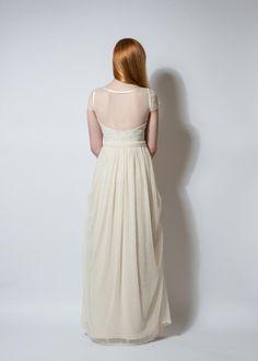 """Brautkleider - Brautkleid """"My Fair Lady"""" - bodenlang - ein Designerstück von Ave-evA bei DaWanda"""