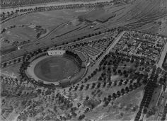 Aerial view of the MCG, 1931