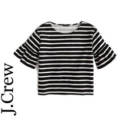 40 brilliant buys that have just hit the high street - Ruffle sleeve top, £79.50, J.Crew