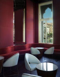 guido ciompi architetti / hotel palazzo centurion, venezia (palazzo genovese dell'architetto edoardo trigomi mattei)