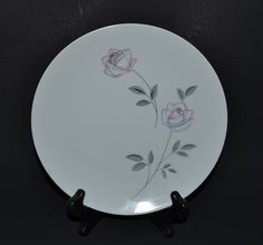Noritake Roselin Pattern  Salad or Luncheon by ChicMouseVintage