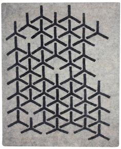 Handmade Felt Rugs from Peace Industry