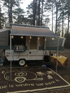 Our first camping adventure in our pop up camper is the first of a new family tradition.