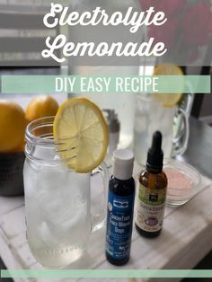 Electrolyte Lemonade | DIY Easy. Homemade Electrolyte DrinkEasy ...
