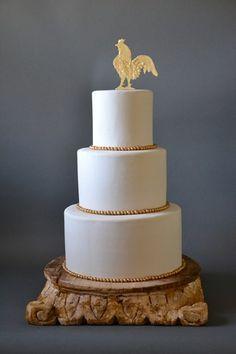 RENT THIS ITEM! Dallas-Fort Worth area.Chanticleer Wedding Art Rental Items 018aChanticleer better gold cake 031