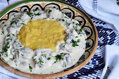 Pui Valdostana - CAIETUL CU RETETE Romanian Food, Kfc, Hummus, Risotto, Food And Drink, Traditional, Dinner, Ethnic Recipes, Romanian Recipes