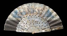 Fan Date: 1855–65 Culture: European Medium: Mother-of-pearl, paper, metal, glass Dimensions: 10 3/4 in. (27.3 cm)