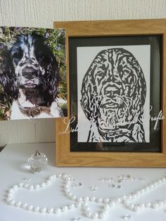 This is a Papercut by Lolabelle Handmade Crafts and Keepsakes and is cut from a Photograph.. cut in white and placed onto a black background..