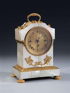 A Vienese Grande Sonnerie mantel clock, Austria, circa 1825 | London | Mallett Antiques