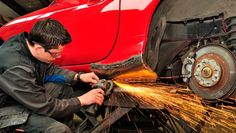 Learn All About Vehicle Repair In This Article. Are you worried about making decisions involving your auto repair and maintenance? Have you wanted to make sure you can fix a vehicle yourself if a problem Auto Collision, Collision Repair, Auto Body Repair, Car Repair, Car Body Repairs, Custom Motorcycle Paint Jobs, Damaged Cars, Ad Car, Glass Repair