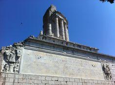 Emperor Augustus' trophy in La Turbie