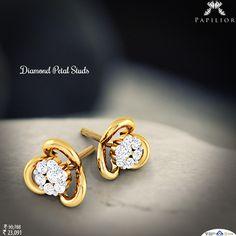 Diamond #earring is always classic and timeless #fashion statement.  #diamondearring #studearring #diamondstuds #lightweightearring #dailywearearring #ladiesfashion #workwearstyle #studearring #diamondstudearring #earringforgirls  #indianstreetfashion  #style #stylis #fashionable #fashionstyle #exquisite #woman #trends #shopping #perfect #embrace #embracelove  #earringsonlineindia  #buyearringsonline #luxurylife #dailywearearring