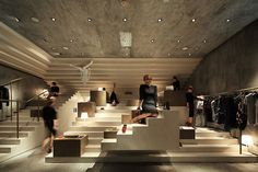 ALTER concept store by Architecture Studio, Shanghai store design Commercial Design, Commercial Interiors, Visual Merchandising Displays, Retail Displays, Shop Displays, Boutique Interior Design, Retail Store Design, Retail Stores, Retail Interior