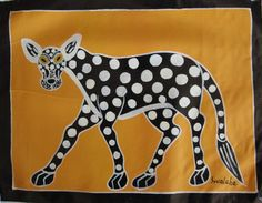 africanartonline.com - Tingatinga Spotted Leopard, (https://africanartonline.com/tingatinga-art-spotted-leopard/)