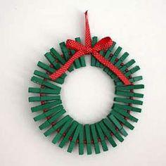 Guirnaldas de Navidad creativas y recicladas.  4 de 9