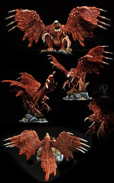 Phoenix painted by Nick Wirtz