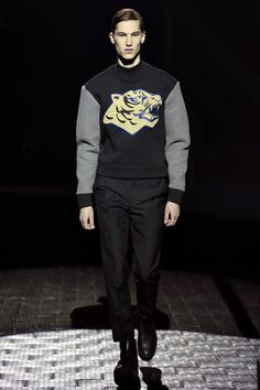 Fall 2013 Menswear  Kenzo