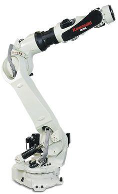 ◆ Visit ~ MACHINE Shop Café ◆ Kawasaki BX200 Industrial Robot