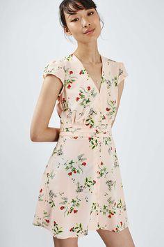 Floral Tea Dress - Dresses - Clothing - Topshop