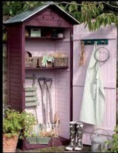 A girlie garden shed