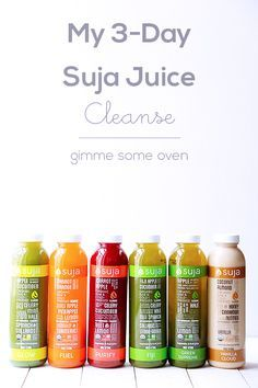 My 3-Day Suja Juice Cleanse   if I ever have the money :(