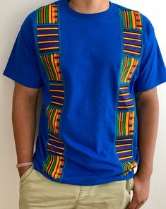 African fashion for men has come a long way. Today, we have a wide selection of amazing African clothing for men that are available in different designs, colors, styles, and fabrics. African American Fashion, African Print Fashion, Africa Fashion, African Fashion Dresses, African Shirts For Men, African Clothing For Men, African Attire, African Wear, Moda Afro