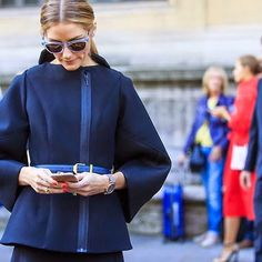 Olivia Palermo at Paris Fashion Week : Look 5 Olivia Palermo Lookbook, Olivia Palermo Style, Fashion Week 2018, Milan Fashion Weeks, Paris Fashion, Phresh Out The Runway, Bella Hadid Outfits, Glamour, Love Her Style