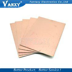 5ピースfr4 pcb 7 × 10センチ7*10片面銅クラッド板diy pcbキットラミネート回路基板送料無料