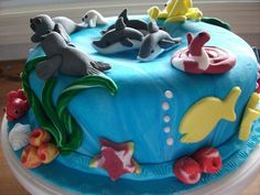 sea life cakes - Google Search