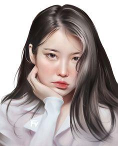 Wake Me Up, Kpop Girls, Portrait, Beauty, Fanart, Headshot Photography, Portrait Paintings, Fan Art, Beauty Illustration