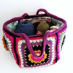 You will love to learn how to make a Crochet Granny Square Bag and it's perfect for your yarn. It's just one of several easy ideas and it's quick and easy to make and looks great. Check out all the FREE Patterns now. More
